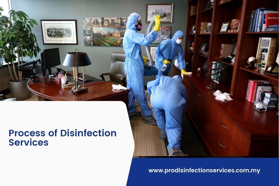 Process of Disinfection Services