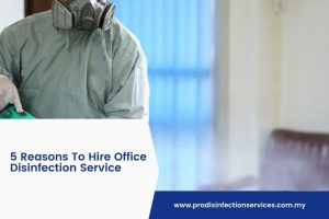 5 Reasons To Hire Office Disinfection Service