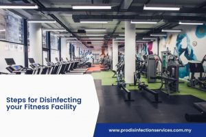 Steps for Disinfecting your Fitness Facility