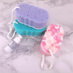 shower sponge dirty