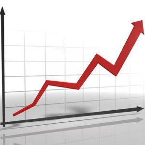 company sales rise