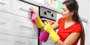often cleaning kitchen